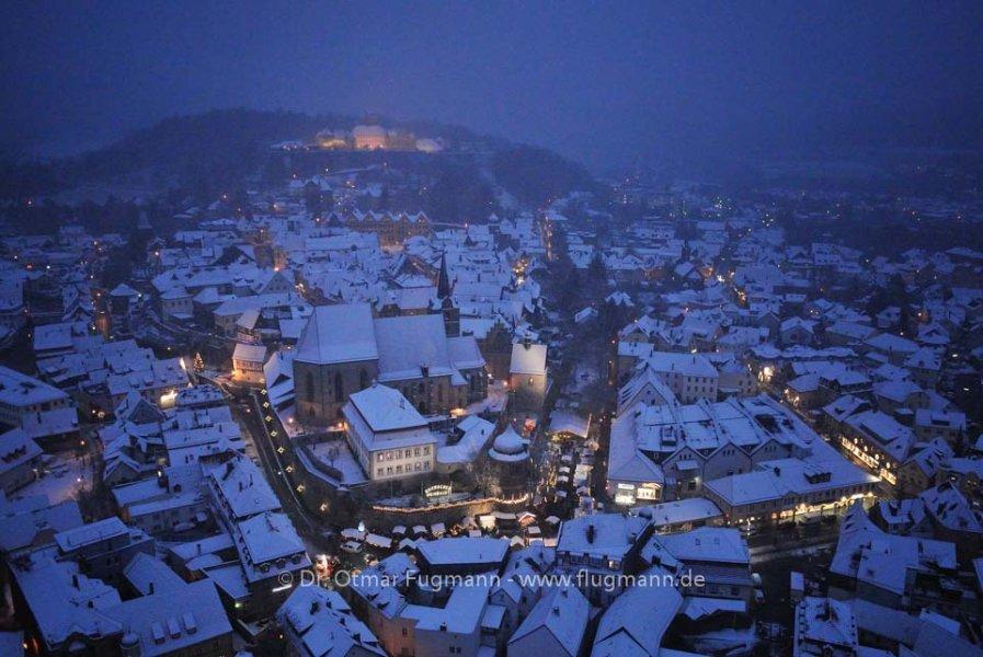 Kronacher Weihnachtsmarkt 2012