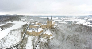 Kloster Banz im Winter