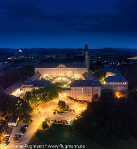 Kloster Banz bei Nacht