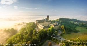 Kloster Banz bei Sonnenaufgang