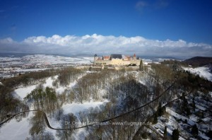Veste Coburg im Winter