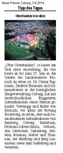 140603 NP Coburg TagesTipp Ausstellung